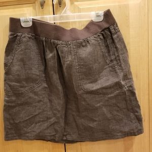 Toad & Co Lina Skirt Size Large NWT